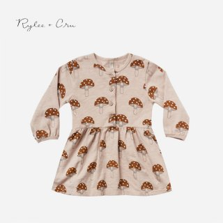 【40%OFF】 Rylee+Cru | mushroom button up dress  (12-18m)-(4-5y)