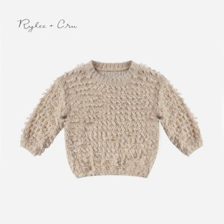 【40%OFF】 Rylee+Cru | slouchy pullover sweater  (12-18m)(2-3y)のみ