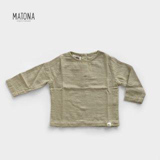 【40%OFF】 MATONA | OLIVE TOP | SESAME (1-2Y)-(5-6y)