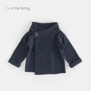 【40%OFF】 1+in the famiry | NURIA jacket / blue notte | 12m-24m