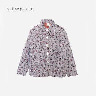 【40%OFF】 yellowpelota | Mr weirdo shirt | mauve 3y/4y/6y