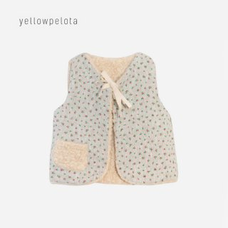 【40%OFF】 yellowpelota | Roses vest  4y/