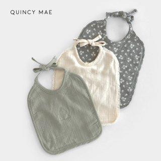 【40%OFF】 Quincy Mae | Woven Tie Bib