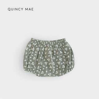 【40%OFF】 Quincy Mae | Woven Bloomer | eucalyptus (12-18m)-(18-24m)