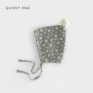 【40%OFF】 Quincy Mae | Pom Pom Pixie Bonnet | eucalyptus (6-12m)