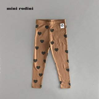 【40%OFF】 mini rodini | HEARTS LEGGINGS TENCEL  (80/86)-(116/122)