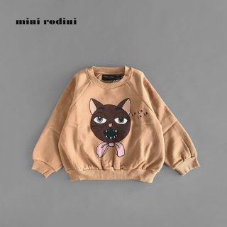 【40%OFF】 mini rodini | CAT CHOIR SP SWEATSHIRT (80/86)-(116/122)