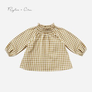 【40%OFF】 Rylee+Cru | gingham audrey blouse |  (12-18m)(18-24m)のみ