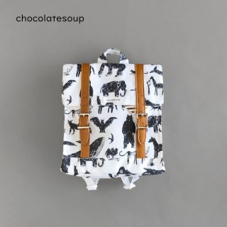 <img class='new_mark_img1' src='https://img.shop-pro.jp/img/new/icons8.gif' style='border:none;display:inline;margin:0px;padding:0px;width:auto;' />chocolatesoup | SQUARE LESSON BAG ANIMAL