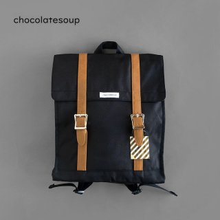 <img class='new_mark_img1' src='https://img.shop-pro.jp/img/new/icons8.gif' style='border:none;display:inline;margin:0px;padding:0px;width:auto;' />chocolatesoup | BIG SQUARE LESSON BAG BLACK