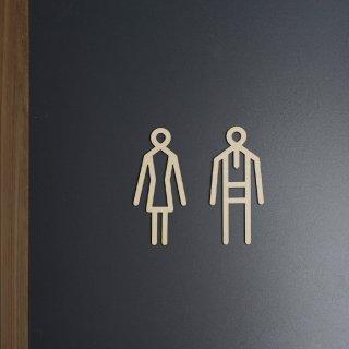 Sukima | toilet sign / トイレサイン