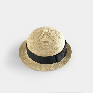 <img class='new_mark_img1' src='https://img.shop-pro.jp/img/new/icons8.gif' style='border:none;display:inline;margin:0px;padding:0px;width:auto;' />chocolatesoup | PAPER BRAID BOWLER HAT |  S(50-52)-M(52-54)