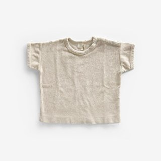 <img class='new_mark_img1' src='https://img.shop-pro.jp/img/new/icons8.gif' style='border:none;display:inline;margin:0px;padding:0px;width:auto;' />THE SIMPLE FOLK | The Terry Boxy Tee | 9-12mのみ