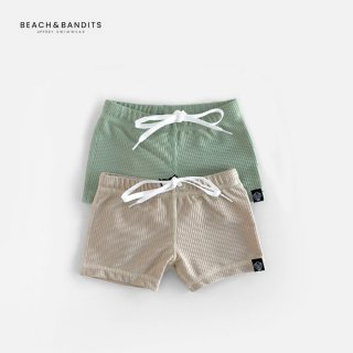 <img class='new_mark_img1' src='https://img.shop-pro.jp/img/new/icons8.gif' style='border:none;display:inline;margin:0px;padding:0px;width:auto;' />BEACH&BANDITS | RIBBED SWIMSHORTS 水着 | S(92/98) - XL(128/134)