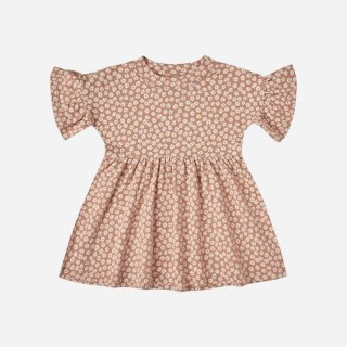 <img class='new_mark_img1' src='https://img.shop-pro.jp/img/new/icons8.gif' style='border:none;display:inline;margin:0px;padding:0px;width:auto;' />Rylee+Cru   jersey babydoll dress   TERRACOTTA (2-3y)-(6-7y)