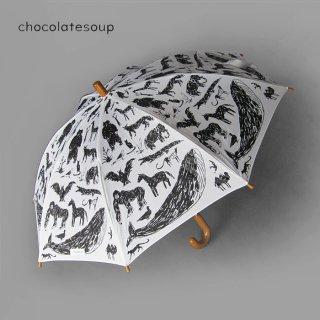 chocolatesoup | KIDS UMBRELLA | ANIMAL 45-55センチ