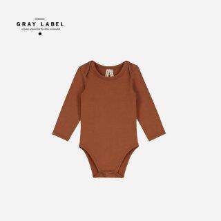 GRAY LABEL   BABY L/S ONESIE   BABY(6-9m)-(9-12m)
