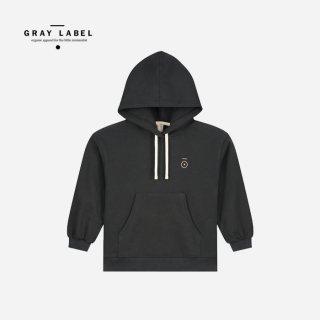 GRAY LABEL   Hoodie Nearly Black   (1-2y)-(7-8y)