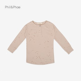 <img class='new_mark_img1' src='https://img.shop-pro.jp/img/new/icons8.gif' style='border:none;display:inline;margin:0px;padding:0px;width:auto;' />Phil&Phae   Rib henley top l/s   dots   6/12m-7/8y