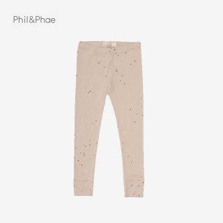 Phil&Phae   Rib leggings   dots   6/12m-3y