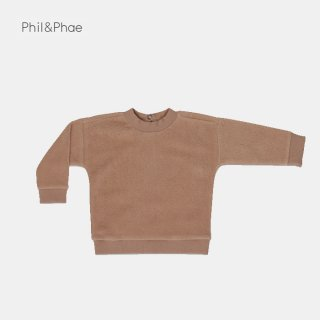 <img class='new_mark_img1' src='https://img.shop-pro.jp/img/new/icons8.gif' style='border:none;display:inline;margin:0px;padding:0px;width:auto;' />Phil&Phae   Teddy baby sweater   creamy mocha   6/12m-18m
