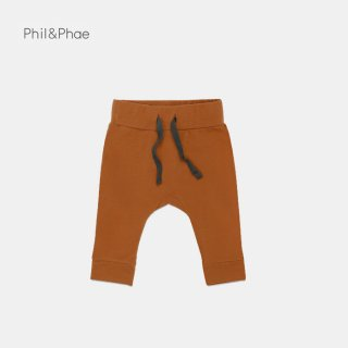 <img class='new_mark_img1' src='https://img.shop-pro.jp/img/new/icons8.gif' style='border:none;display:inline;margin:0px;padding:0px;width:auto;' />Phil&Phae   Drop-crotch baby pants   gingerbread   6/12m-18m