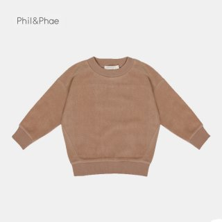 <img class='new_mark_img1' src='https://img.shop-pro.jp/img/new/icons8.gif' style='border:none;display:inline;margin:0px;padding:0px;width:auto;' />Phil&Phae   Oversized teddy sweater   creamy mocha   2y-7/8y