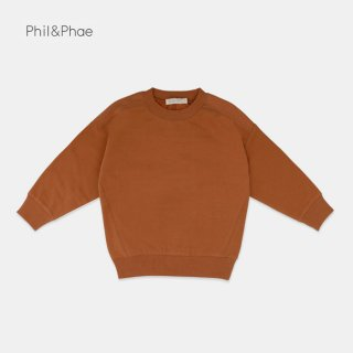 <img class='new_mark_img1' src='https://img.shop-pro.jp/img/new/icons8.gif' style='border:none;display:inline;margin:0px;padding:0px;width:auto;' />Phil&Phae   Oversized sweater   gingerbread   2y-7/8y