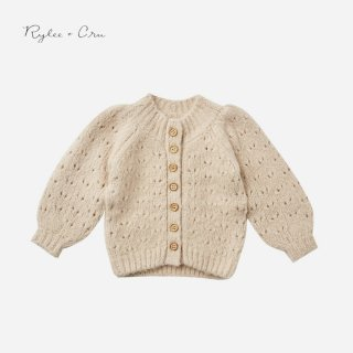 <img class='new_mark_img1' src='https://img.shop-pro.jp/img/new/icons7.gif' style='border:none;display:inline;margin:0px;padding:0px;width:auto;' />Rylee&cru   TULIP CARDIGAN   BEIGE   12-18m〜6-7y