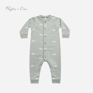 <img class='new_mark_img1' src='https://img.shop-pro.jp/img/new/icons7.gif' style='border:none;display:inline;margin:0px;padding:0px;width:auto;' />Rylee&cru   BUTTON DOWN JUMPSUIT   BLUE FOG   3-6m〜6-12m