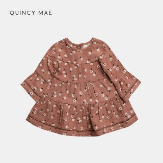 <img class='new_mark_img1' src='https://img.shop-pro.jp/img/new/icons7.gif' style='border:none;display:inline;margin:0px;padding:0px;width:auto;' />QUINCY MAE   BELLE DRESS   CLAY DITSY   6-12m