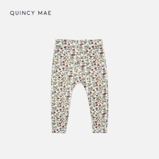 <img class='new_mark_img1' src='https://img.shop-pro.jp/img/new/icons7.gif' style='border:none;display:inline;margin:0px;padding:0px;width:auto;' />QUINCY MAE   BAMBOO LEGGINGS   FLEUR   6-12m〜12-18m