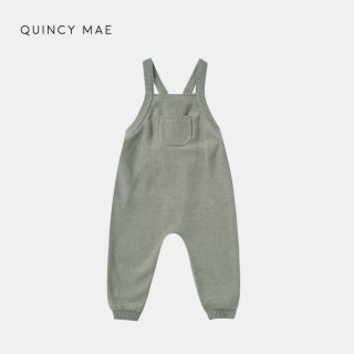 <img class='new_mark_img1' src='https://img.shop-pro.jp/img/new/icons7.gif' style='border:none;display:inline;margin:0px;padding:0px;width:auto;' />QUINCY MAE   KNIT OVERALLS   BASIL   6-12m〜12-18m