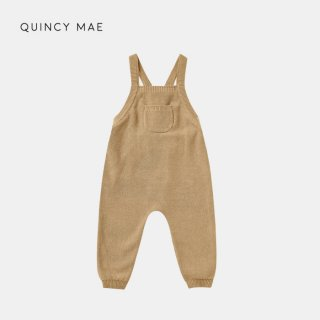 <img class='new_mark_img1' src='https://img.shop-pro.jp/img/new/icons7.gif' style='border:none;display:inline;margin:0px;padding:0px;width:auto;' />QUINCY MAE   KNIT OVERALLS   HONEY   6-12m〜12-18m