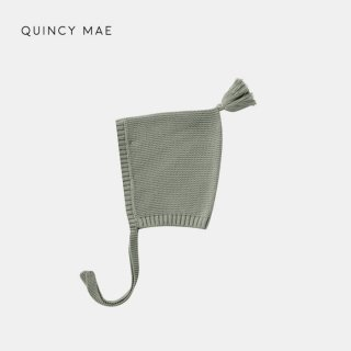 <img class='new_mark_img1' src='https://img.shop-pro.jp/img/new/icons7.gif' style='border:none;display:inline;margin:0px;padding:0px;width:auto;' />QUINCY MAE   KNIT PIXIE BONNET   BASIL   6-12m
