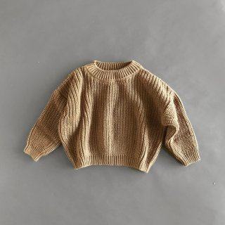 <img class='new_mark_img1' src='https://img.shop-pro.jp/img/new/icons7.gif' style='border:none;display:inline;margin:0px;padding:0px;width:auto;' />THE SIMPLE FOLK   The Chunky Sweater   12-18m〜6-7y