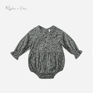 <img class='new_mark_img1' src='https://img.shop-pro.jp/img/new/icons7.gif' style='border:none;display:inline;margin:0px;padding:0px;width:auto;' />Rylee&cru   CORA ROMPER   INDIGO MEADOW   6-12m