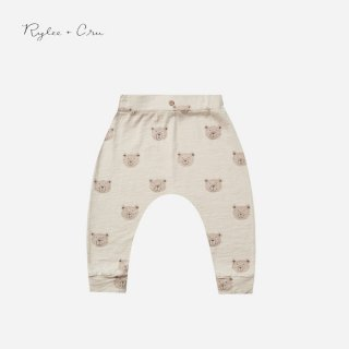 <img class='new_mark_img1' src='https://img.shop-pro.jp/img/new/icons7.gif' style='border:none;display:inline;margin:0px;padding:0px;width:auto;' />Rylee&cru   SLOUCH PANT   BEARS   6-12m〜12m-18m