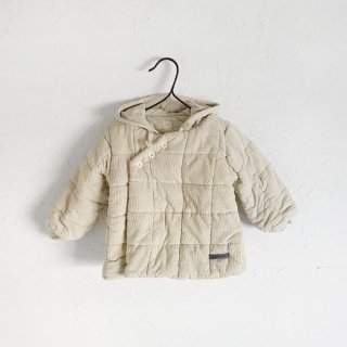 <img class='new_mark_img1' src='https://img.shop-pro.jp/img/new/icons7.gif' style='border:none;display:inline;margin:0px;padding:0px;width:auto;' />MY LITTLE COZMO   corduroy padded hooded baby coat    12m〜24m