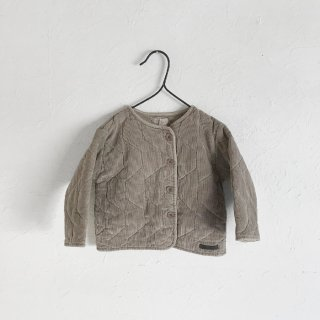 <img class='new_mark_img1' src='https://img.shop-pro.jp/img/new/icons7.gif' style='border:none;display:inline;margin:0px;padding:0px;width:auto;' />MY LITTLE COZMO   corduroy padded baby jacket    12m〜24m