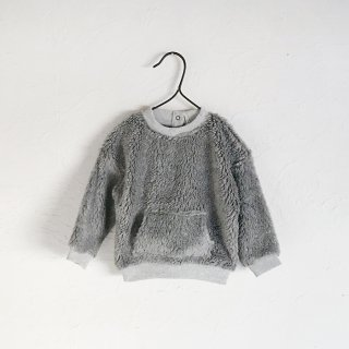 <img class='new_mark_img1' src='https://img.shop-pro.jp/img/new/icons7.gif' style='border:none;display:inline;margin:0px;padding:0px;width:auto;' />MY LITTLE COZMO   FAUX SHEARLING SWEATSHIRT    12m〜8y