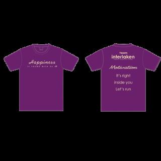 team interlaken Tシャツ&ノースリーブ Happiness