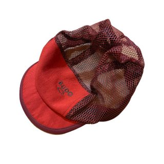 BUDO Soft Brim Gloss Mesh Cap