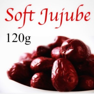<お試しサイズ>極上ドライなつめ(大)SOFT JUJUBE 120g (農薬・化学肥料不使用・無添加)