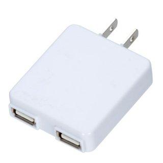 2ポートUSB-ACアダプター<br>表示価格は参考上代です。卸価格はお問い合わせください。