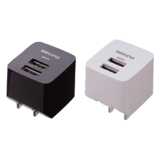 USBコンセントチャージャー2.1A 2ポート <br>表示価格は参考上代です。卸価格はお問い合わせください。