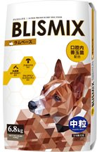 ブリスミックス 犬用 ラム 中粒 3kg
