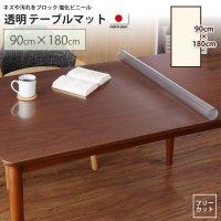 90×180cm テーブルマット   透明マット シート テーブル、デスクマット