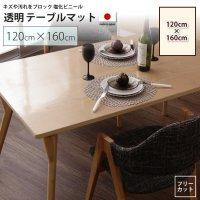 120×160cm テーブルマット   透明マット シート テーブル、デスクマット