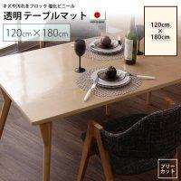 120×180cm テーブルマット   透明マット シート テーブル、デスクマット